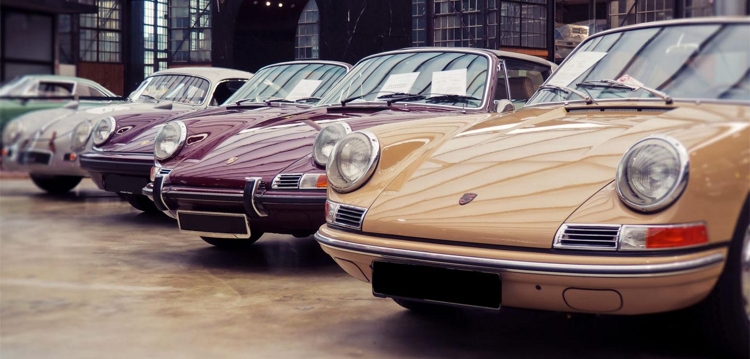 professionelle Keramikversiegelung Porsche Oldtimer