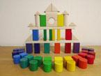 ヨーロッパ材使用郡上八幡産高級木製玩具
