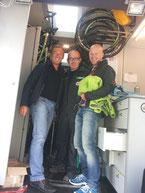 Mit dem Chef-Mechaniker in der mobilen Werkstatt