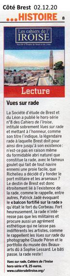 Côté Brest, semaine du 2 décembre 2020