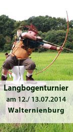Langbogenturnier 12./ 13.07.2014 in Walternienburg