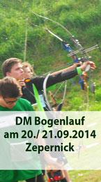 DM Bogenlauf am 20./ 21.09.2014 in Zepernick