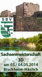 Sachsenmeisterschaft 3D am 03./ 04.05.2014 in Bischheim-Häslich