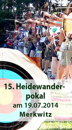 15. Heidewanderpokal am 19.07.2014 in Merkwitz