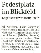 Artikel - Blaue Scheibe 2005 in Halle Neustadt