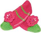 Tutoriales pantuflas para damas