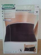Rücken Bandage