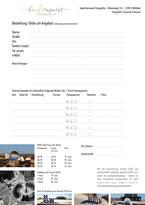 Landschaftsaufnahmen, Bestellformular, Nordfriesland, Passepartout, Geschenkidee