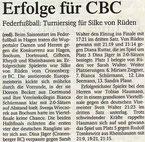 Westdeutsche Zeitung Bericht vom 04.02.2005