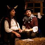 Ox und Esel