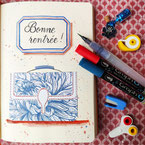 Paper Break papeterie creteil val de marne region parisienne ateliers bullet journal janvier page garde bujo septembre cartable rentrée