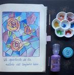 Paper Break papeterie creteil val de marne region parisienne ateliers bullet journal dessin vitrail gratuit