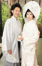 日本古来の白無垢姿