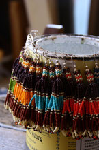 beads pierce  フリンジピアス