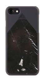 iphone 7 marble case black front