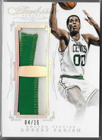 ROBERT PARISH / Dual Patch - No. DP-RP  (#d 4/15)