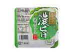人気の濃旨豆腐に北海道産枝豆の粉末を使用