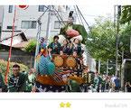 カエルさん:赤坂氷川祭