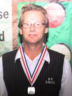 Johan Embregts, districtkampioen driebanden hoofdklasse