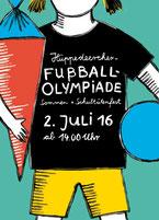 Heike Herold, Illustration, Sommerfest, Plakat, Postkarte