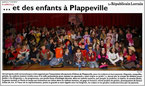 Spectacle donné à PLAPPEVILLE dans le cadre du carnaval 2012 - LES GUIGNOLOS