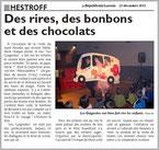 ET PATATI, ET PATATRAC... - Spectacle pour les enfants et la famille - Saison 2012-2013 - Compagnie LES GuiGnOlOs - représentation donnée à HESTROFF 57320