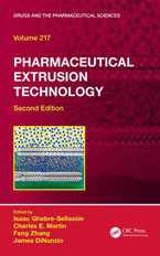 "Book Cover of ""Pharmaceutical Extrusion Technology"""