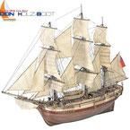 H.M.S. Bounty holzbausatz, historische Modellschiffe