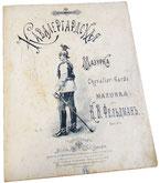 Кавалергардская мазурка, Фельдман, ноты для фортепиано