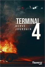 Couverture Terminal 4 Hervé Jourdain