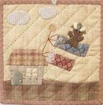 Mother's Dreamのこいのぼりのミニタペストリーの画像です。