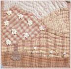 Mother's Dreamのお花見のミニタペストリーの画像です。