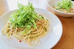 ツナと水菜のパスタ
