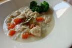 鶏むね肉 しっとり クリームシチュー クリームスープ