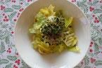 春キャベツの生サラダ