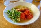 白菜とソーセージのスープ