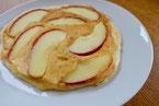 りんごパンケーキ