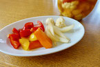玉ねぎと彩り野菜のピクルス 玉ねぎ パプリカ にんじん カリフラワー ピクルス