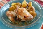 鶏肉とじゃがいものハーブロースト チキンロースト ローズマリー焼き
