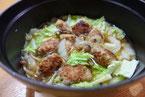 肉団子と白菜の煮込み 合挽き肉 マロニー