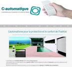 C-automatique site réalisé en formation avec e-cime.fr