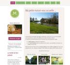 Site ma petite maison, réalisé en formation avec e-cime.fr