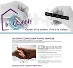 le coocon site cree en formation avec e-cime.fr spécialiste du site avec optimisation Référencement pour TPE