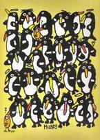 """befracktes Gedränge"", Acryl auf Leinwand   24/30 cm März 2009"