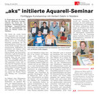 Aquarell-Seminar in Nüziders