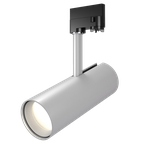 Schienenstrahler, Beleuchtung durch Strahler auf einer Lichtschiene.
