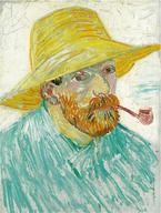 Van Gogh fume la pipe mais pas une Louis Vuitton