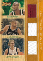 GARNETT DUNCAN NOWITZKI / In the Paint - No. TTR-GDN  (#d 49/99)