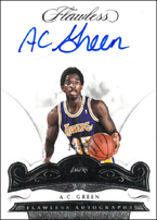 A.C. GREEN / Flawless Autographs - No. FA-ACG  (#d 14/25)