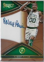 ROBERT PARISH / Select Auto - No. S-RPS  (#d 15/49)